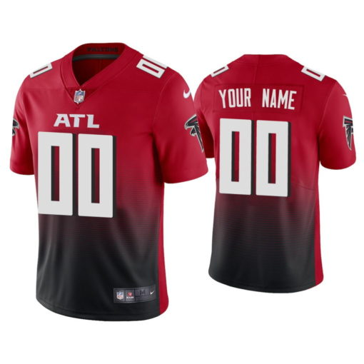 Atlanta Falcons Custom Red Jersey 2020 Vapor Limited - Men's