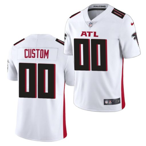 Atlanta Falcons Custom White Jersey 2020 Vapor Limited - Men's