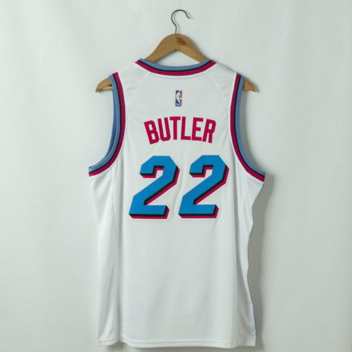 Jimmy Butler Miami Heat 2020-21 ASSOCIATION white Swingman Jersey 1