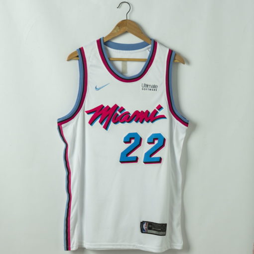 Jimmy Butler Miami Heat 2020-21 ASSOCIATION white Swingman Jersey