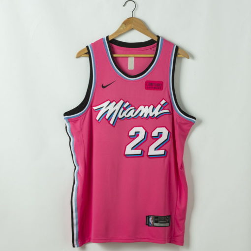 Jimmy Butler Miami Heat 2020-21 Pink Swingman Jersey