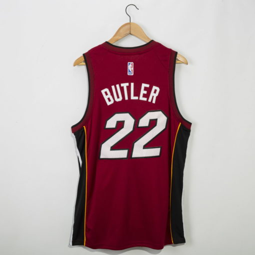 Jimmy Butler Miami Heat 2020-21 STATEMENT red Swingman Jersey 1