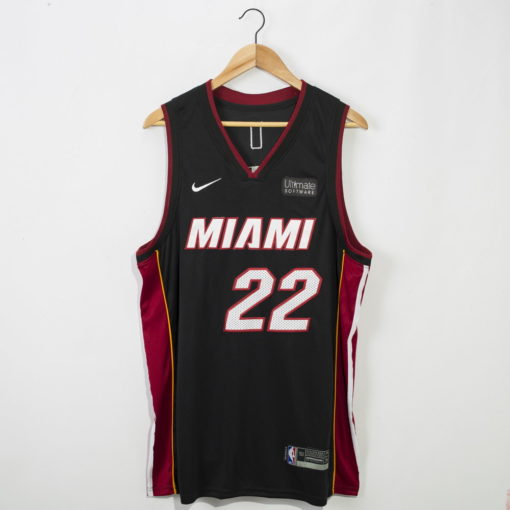 Jimmy Butler Miami Heat 2020-21 icon black Swingman Jersey