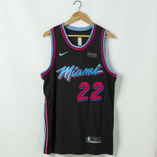 Jimmy Butler Miami Heat 2020-21 vice night blue Swingman Jersey