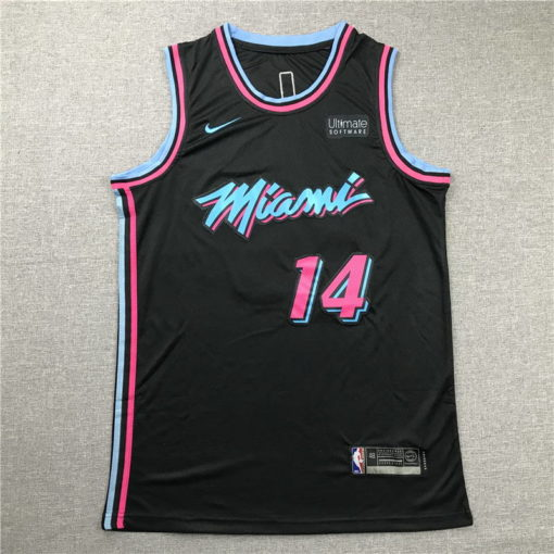 Tyler Herro Miami Heat 202021 Swingman Jersey - Black