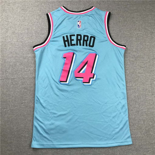Tyler Herro Miami Heat 202021 Swingman Jersey - blue 1