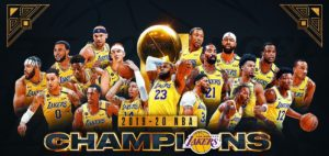 The Los Angeles Lakers are the 2020 NBA Champions