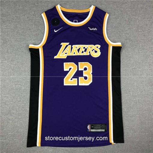 Los Angeles Lakers LeBron James Statement Edition Swingman Jersey 2