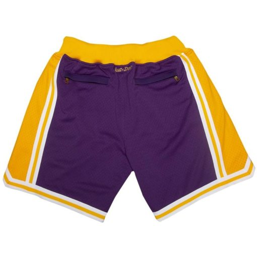 Los Angeles Lakers Shorts (Purple) 1