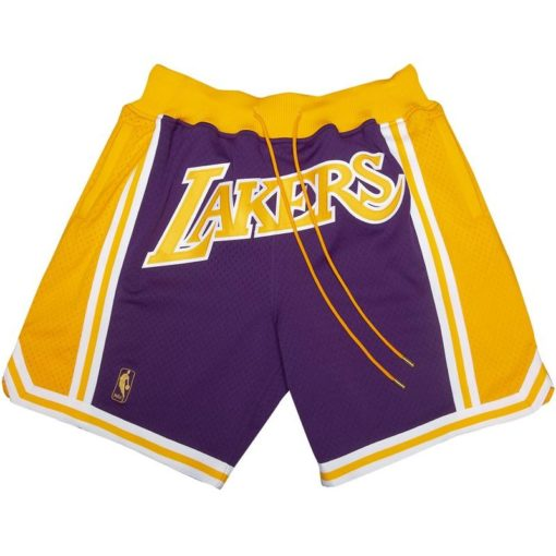 Los Angeles Lakers Shorts (Purple)