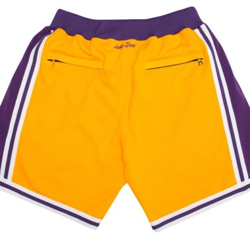 Los Angeles Lakers Shorts (Yellow) 1