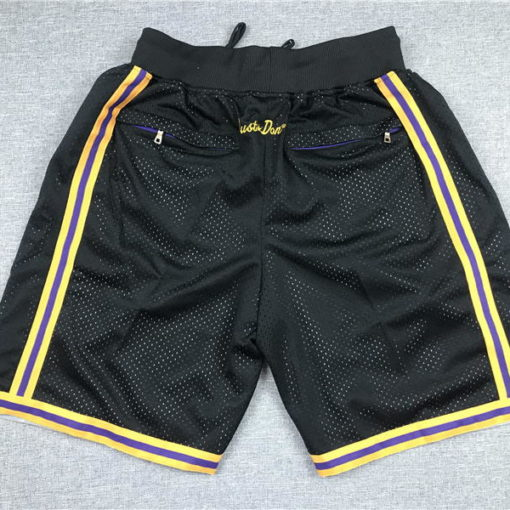 lakers black shorts 1