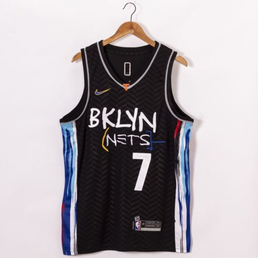 Kevin Durant 2021 City Edition Black Jerseys