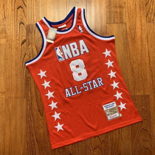 Kobe Bryant 2003 All Star West Jersey real 3