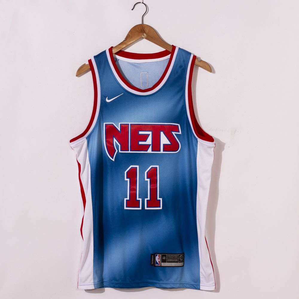 Kyrie Irving Brooklyn Nets 2021 Classic Edition Blue Jerseys