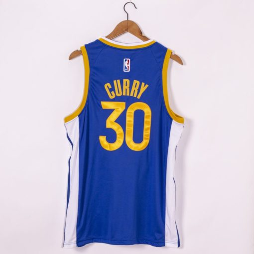 Stephen Curry Golden State Warriors Nike 202021 Swingman Jersey - Royal - Icon Edition back
