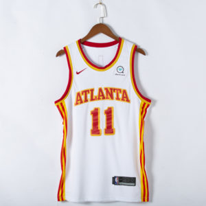 Trae Young #11 Atlanta Hawks 2021 Association Edition Swingman White Jersey