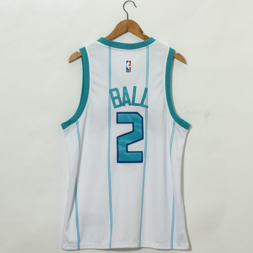 LaMelo Ball Charlotte Hornets 2021 Association Swingman Jersey back