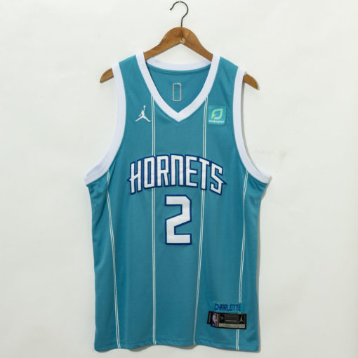 LaMelo Ball Teal Charlotte Hornets 2020 Fast Break Custom Jersey