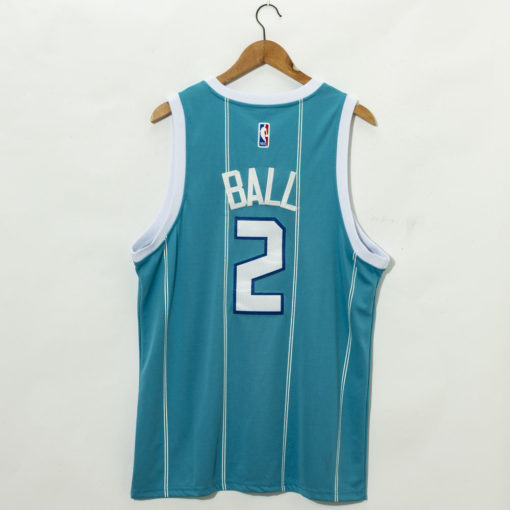 LaMelo Ball Teal Charlotte Hornets 2020 Fast Break Custom Jersey back