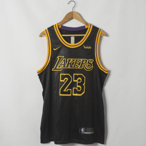 LeBron James Los Angeles Lakers Black Mamba Inspired City Jersey