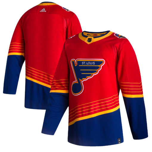 Men's St. Louis Blues adidas Red 202021 Reverse Retro Jersey