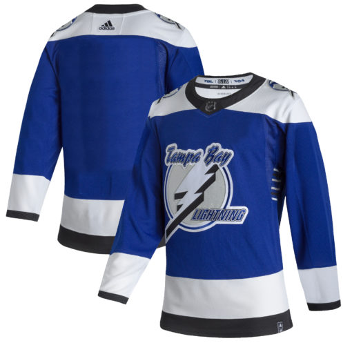 Men's Tampa Bay Lightning adidas Blue 202021 Reverse Retro Jersey