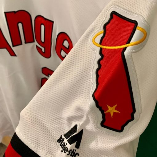 Mike Trout Los Angeles Angels 1970s Jersey 2