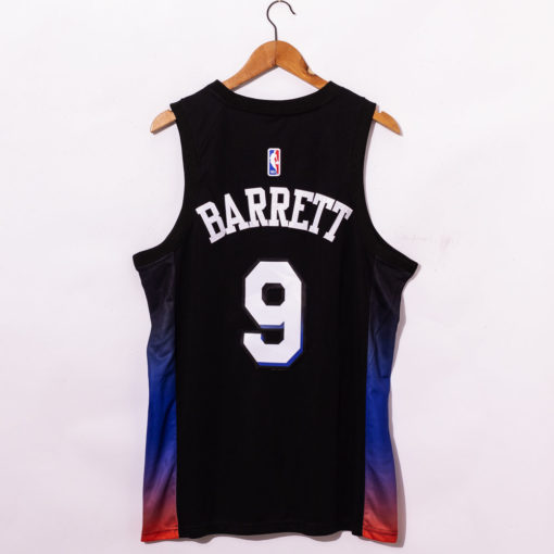 RJ Barrett New York Knicks 2021 City Edition Swingman Jersey back