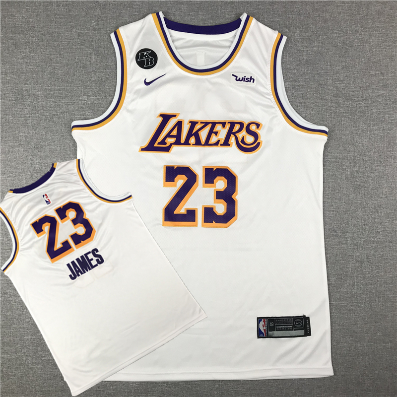 LeBron James 23 Los Angeles Lakers 2019-20 Association Edition White Jersey